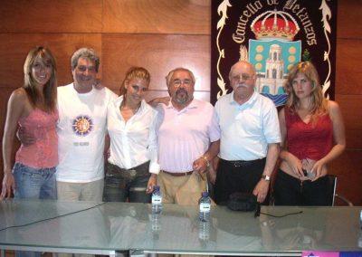 Raquel Meroño, Sancho Gracia, Elsa Pataky, Julio Fernández, Albino Mallo, Barbara Elorrieta