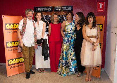 Photocall en la XVI Semana Internacional de Cine de Betanzos (2016)